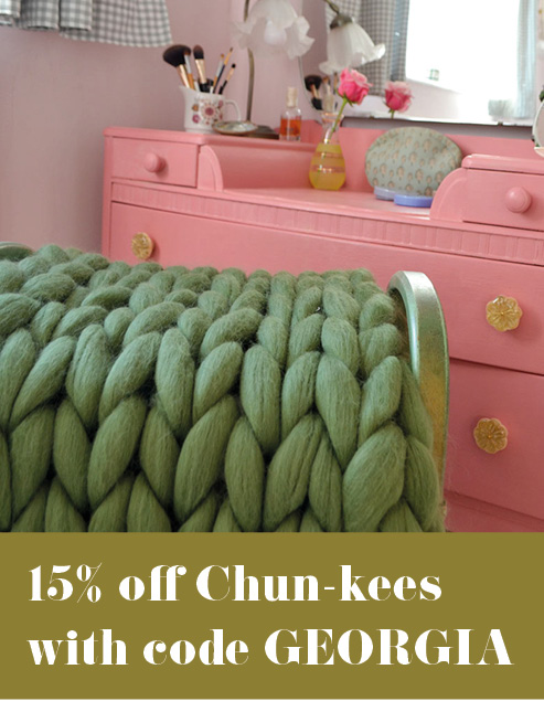 15% off Chun-kees with code GEORGIA